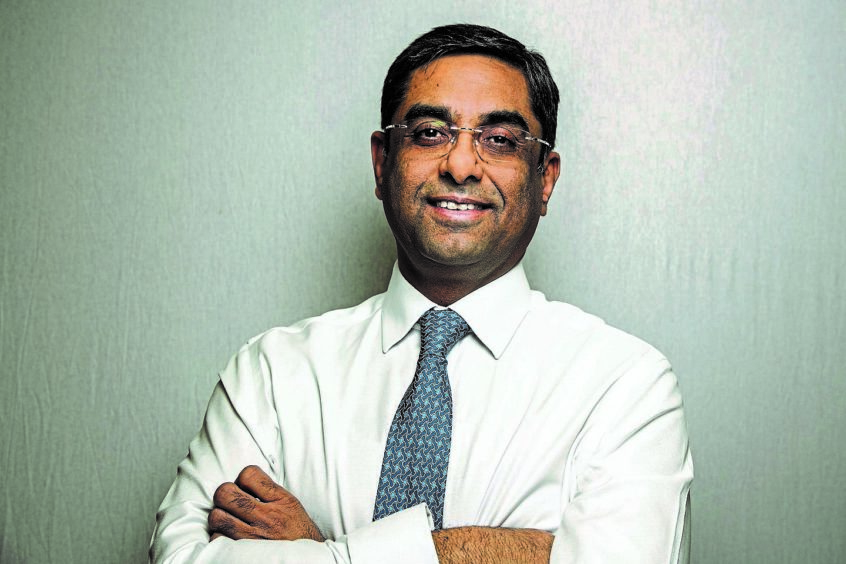 Sandeep Sharma CFO EnerMech.