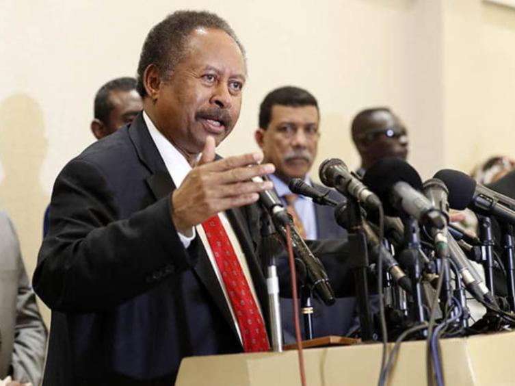Sudanese Prime Minister Abdalla Hamdok