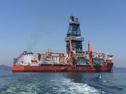 Seadrill's West Saturn drilled the Mesurado well offshore Liberia in 2016 for ExxonMobil