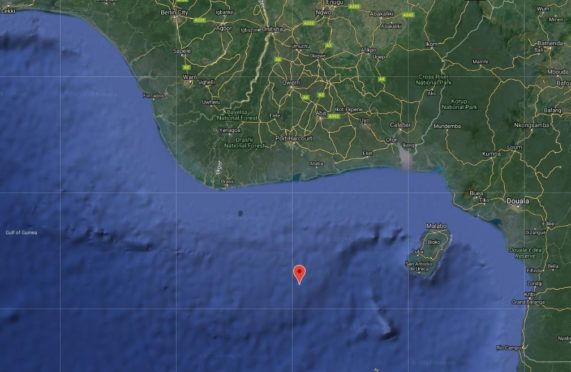 The incident took place around 76 nautical miles south of Bonny, Nigeria.