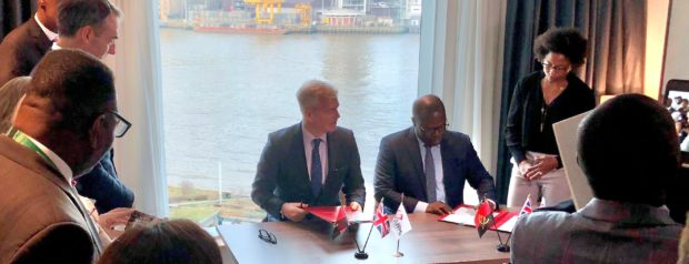 BP and ANPG sign a deal on the sidelines of the UK-Africa summit in London