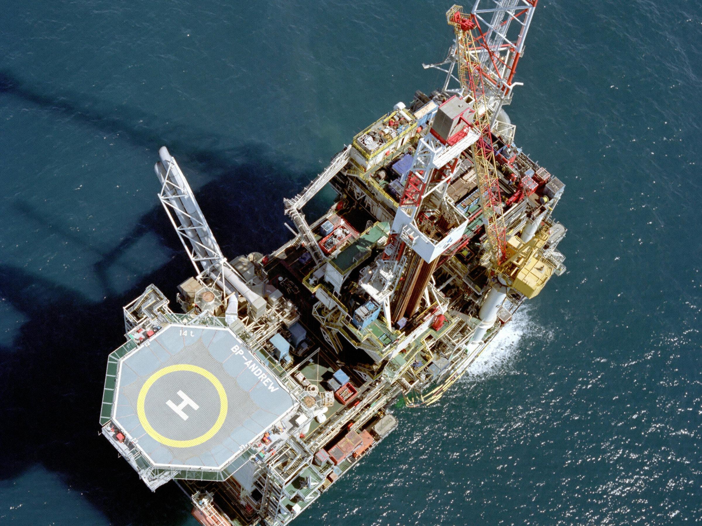 BP North Sea sale