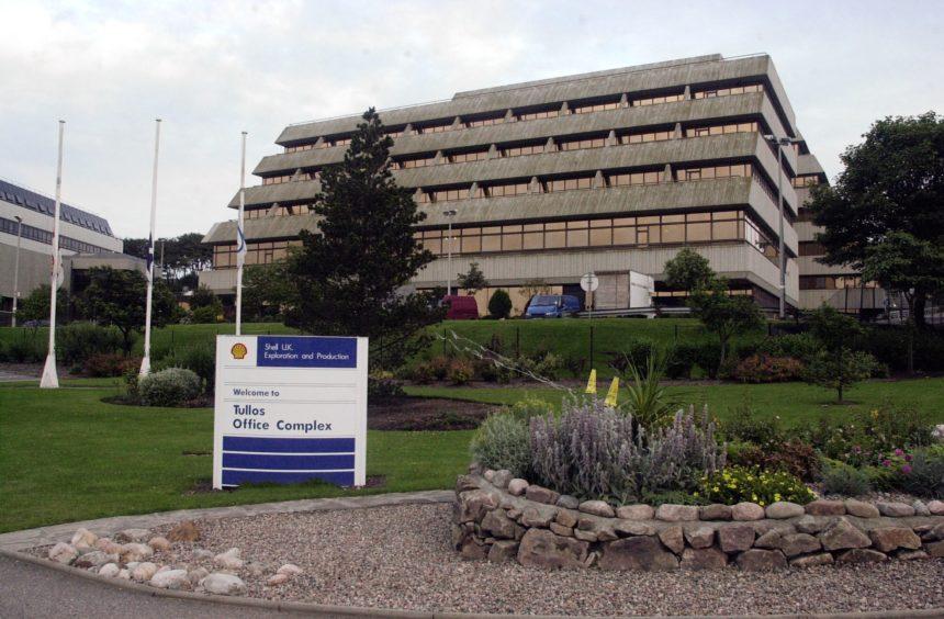 Shell's regional headquarters on Wellington Road in Aberdeen.