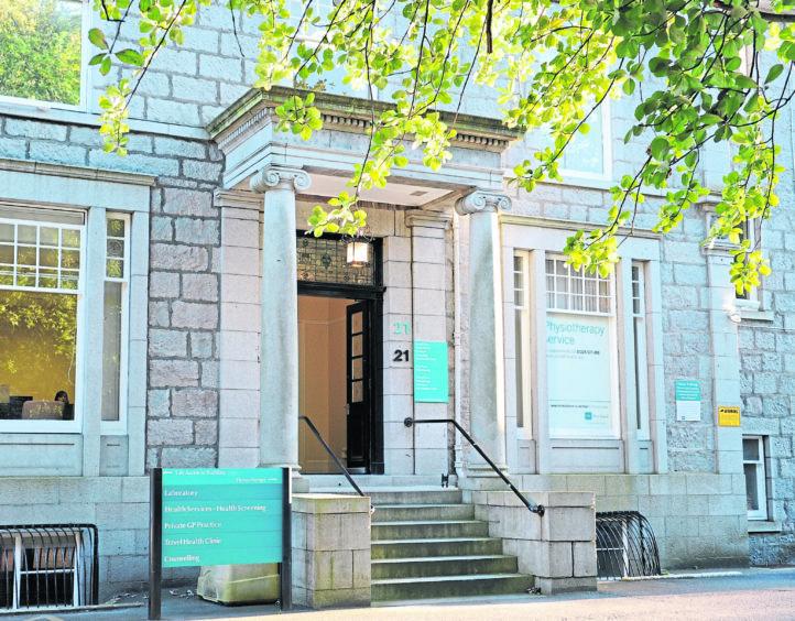 BMI Albyn Hospital in Aberdeen