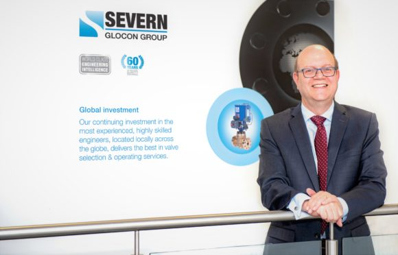 Colin Findlay, new Severn Glocon CEO.