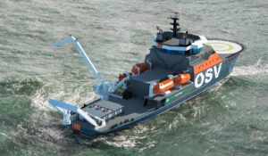 Damen develops new 'low carbon' concept vessel following calls from operators