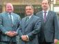 TEAM: From left, Jeffrey Blair, Andy Grieve and Brett Jackson.