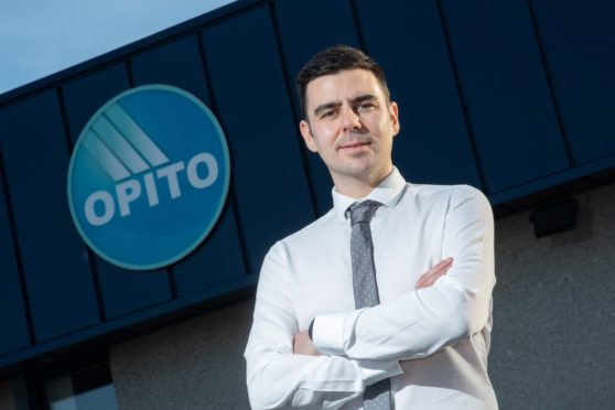 OPITO apprentice of the year 2020, Gavin Brown. Picture by Abermedia / Michal Wachucik