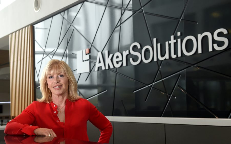 Sian Lloyd Rees of Aker Solutions