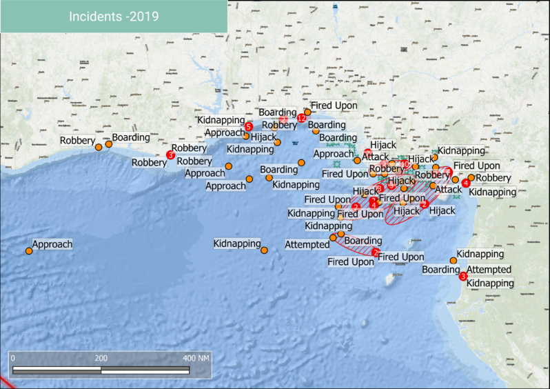 West Africa has become the world's most dangerous piracy hot spot