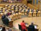 Climate activists interrupted First Minister's Questions at Holyrood on Thursday
