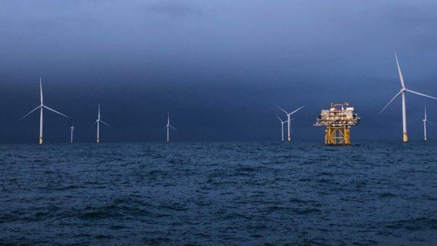 Dudgeon offshore wind farm. (Photo: Sonja Chirico Indrebø)