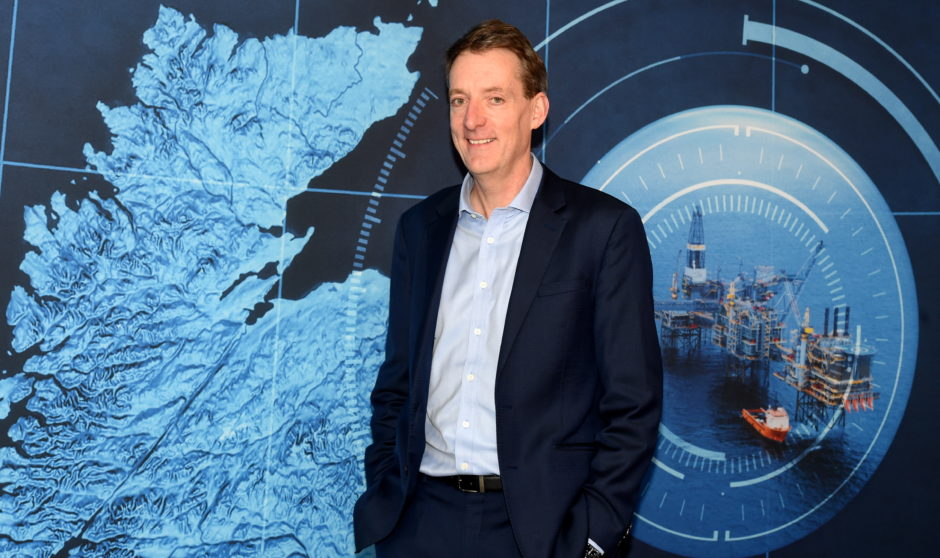 Oil and Gas Authority chief executive Andy Samuel. Picture by Jim Irvine  17-12-19