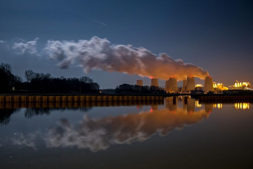 Jnschwalde  lignite-fired power station. Operated by Lausitz Energie Kraftwerke AG (LEAG).Near Peitz. Brandenburg, Germany.08.02.2020.Photo: Krisztian Bocsi