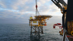 Wintershall Dea hits first gas at UK-Dutch North Sea field