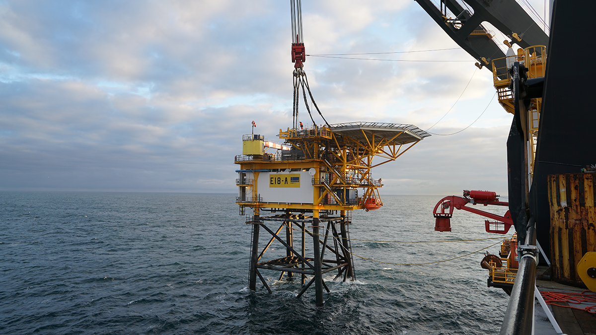 Wintershall Dea hits first gas at UK-Dutch North Sea field - News for the Oil and Gas Sector