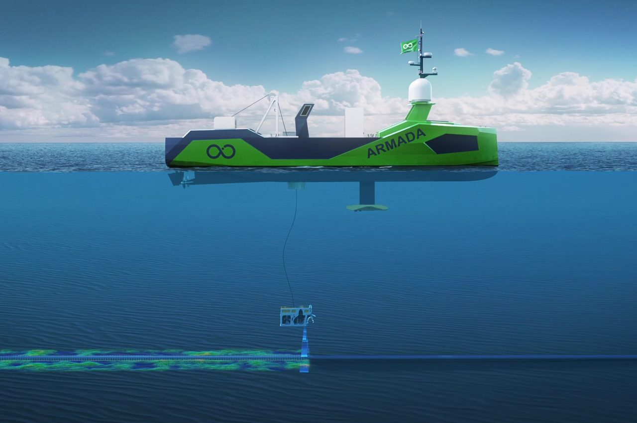 Ocean Infinity's Armada plan will see a fleet of unmanned vessels deployed around the world, starting in 2021, the company's Dan Hook has said.