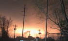 A fire broke out early Wednesday at Exxon Mobil's Baton Rouge oil refinery.