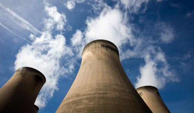 Drax Group Plc.'s power station. Photographer: Simon Dawson/Bloomberg