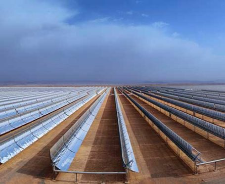 Solar power in Morocco Source: ACWA Power