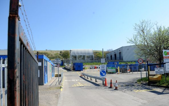 NESS energy plant will be located in East Tullos Industrial Estate in Aberdeen. Picture by DARRELL BENNS