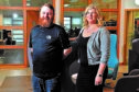 Business development manager Lee Duncan and business manager Angela Stephen. Picture by Scott Baxter.