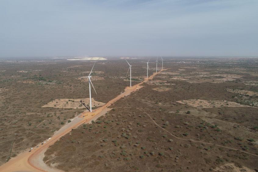 PETN turbines stand in Senegal