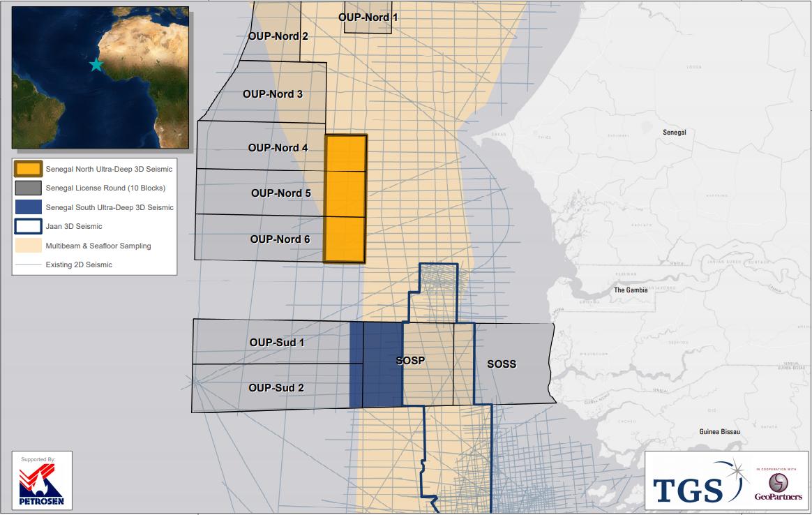 TGS launches third Senegal survey