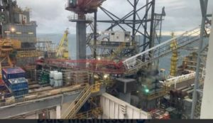 Updated: North Sea drilling rig's crane collapses
