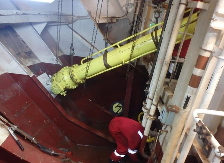 HullGuard has been deployed in the North Sea.