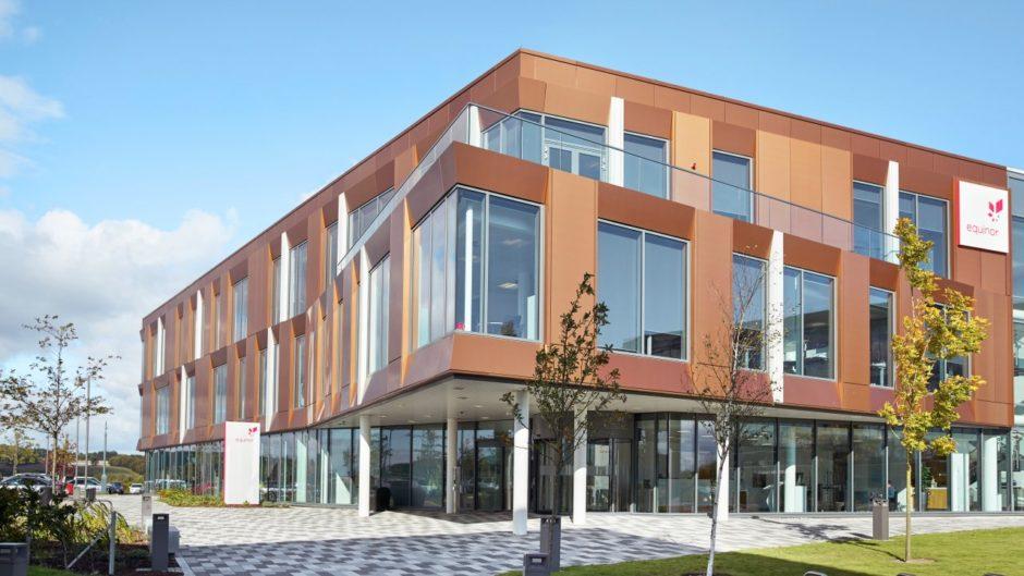 Equinor's regional headquarters in Aberdeen