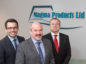 From left, Terry Allan, deputy managing director of Global E&C, Paul Rushton, chairman of Magma Products, and Derek Mitchell, managing director of Global E&C.
