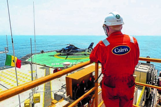 Cairn Energy in Senegal.