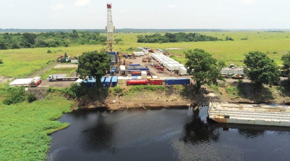 PEPA's drilling work at Likouala-aux-Herbes Source: PEPA