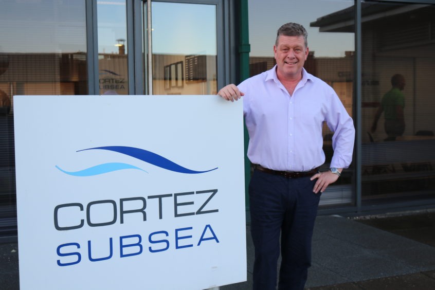 Murray Ross, general manager and director of Cortez Malaysia