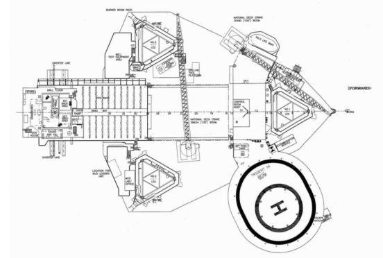 Shelf Drilling's Trident 16 jack-up