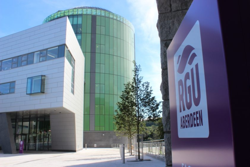 Figures have been obtained for both RGU and Aberdeen Uni. Pic: RGU's Sir Ian Wood building on its Garthdee campus.