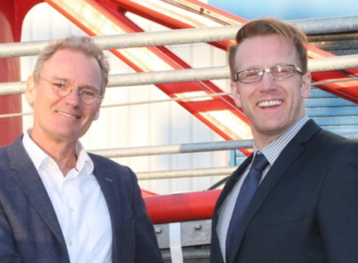 From left to right: Jan-Pieter Klaver, CEO of KenzFigee and Barry Stewart, Vice President KenzFigee (UK) Ltd.