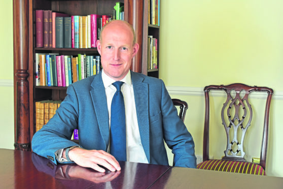 Cluff Natural Resources chief executive Graham Swindells