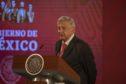 Andres Manuel Lopez Obrador, Mexico's president. Photographer: Alejandro Cegarra/Bloomberg