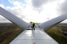 Giant wind park starting up is another blow to nuclear industry