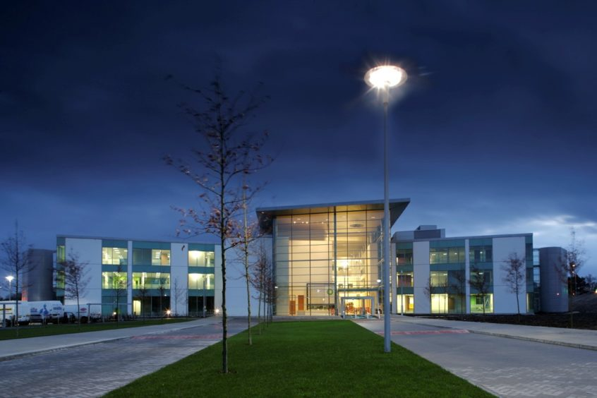 BP's North Sea headquarters at Wellheads Avenue in Dyce.
