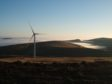 Burnfoot Hill onshore wind farm.
