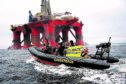 BP Greenpeace North Sea