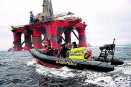'We will not be silenced': Court ruling could see Greenpeace chief imprisoned over North Sea protest
