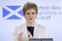 First Minister Nicola Sturgeon Jane Barlow/PA Wire