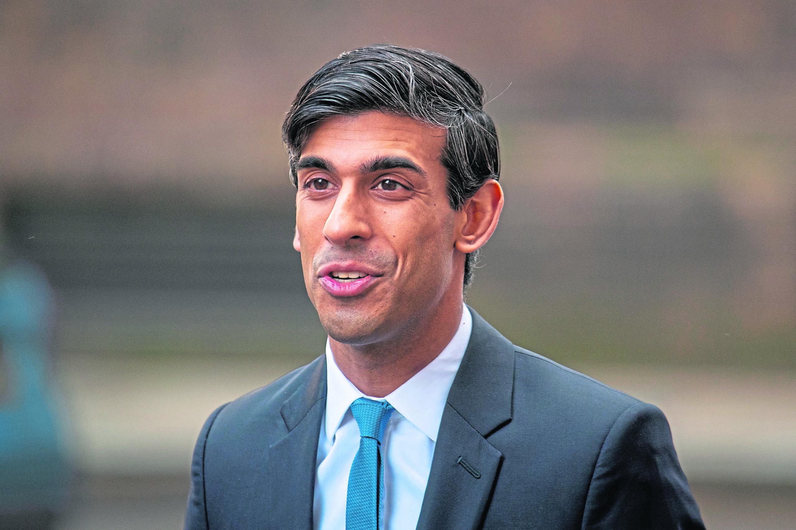Chancellor Rishi Sunak. Dominic Lipinski/PA Wire