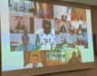 Talks were held via videoconference
