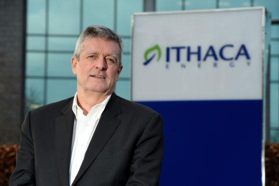 Ithaca chief executive Les Thomas