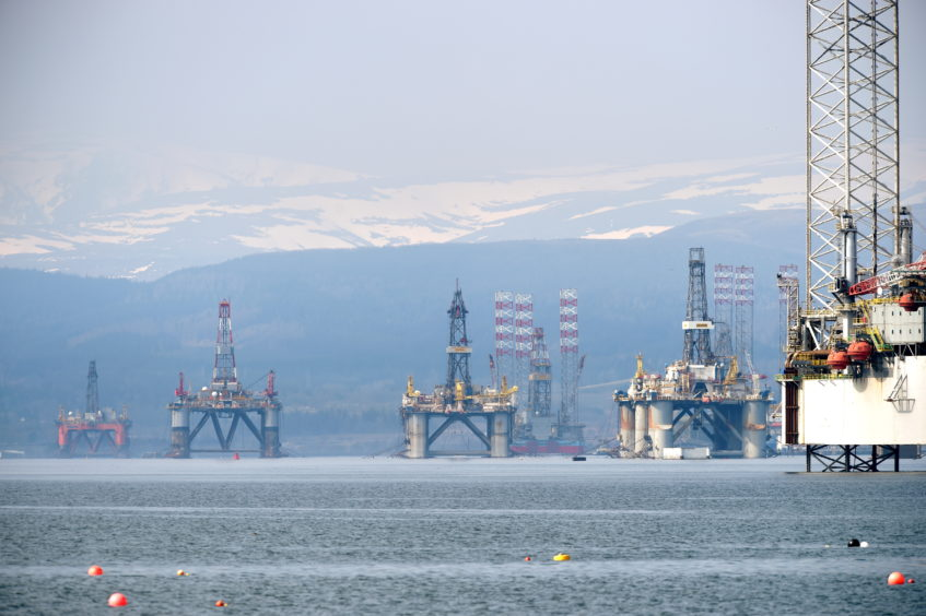 """The Cromarty Firth has had a """"significant increase"""" in oil rigs arriving in the last four months."""